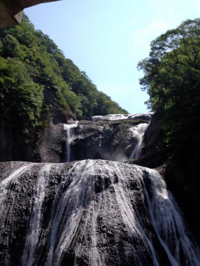 茨城の秘湯と袋田の滝旅行記(2012夏休み)
