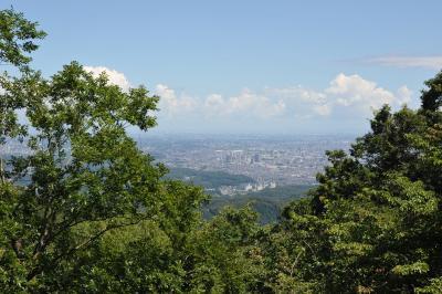 真夏の高尾山と「うかい鳥山」