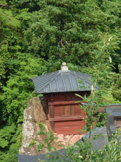 奥の細道を訪ねて第10回30立石寺(山寺)の景観③奥の院の景観と五大堂からのパノラマ