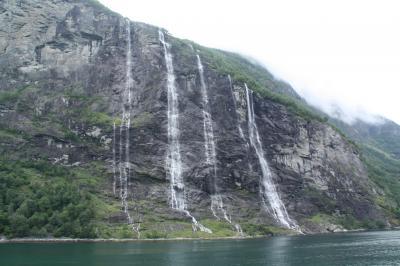 涼を求めて北欧の旅8 ノルウェー5 世界遺産ゲイランゲルフィヨルド(ガイランゲルフィヨルド)