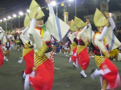 越谷の阿波踊り