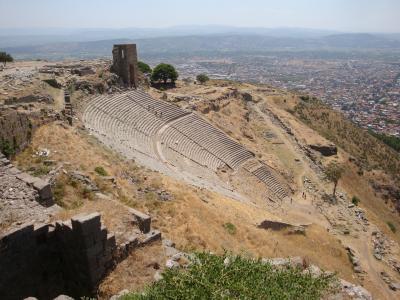 【2012年夏】トルコの旅~その5:ベルガマの遺跡と街歩き~