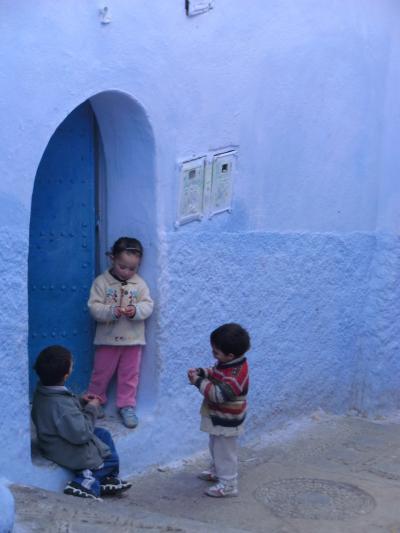 L-12.モロッコ周遊~ブルーの町シャウエン~ドコまで青にこだわるの~??