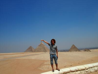 2012 エジプト 憧れの紅海ダイブとピラミッドでラクダに乗る 後編