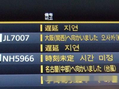 女二人でちょこっとバリ島 3泊5日 5日目最終日 「羽田を台風が直撃」の卷
