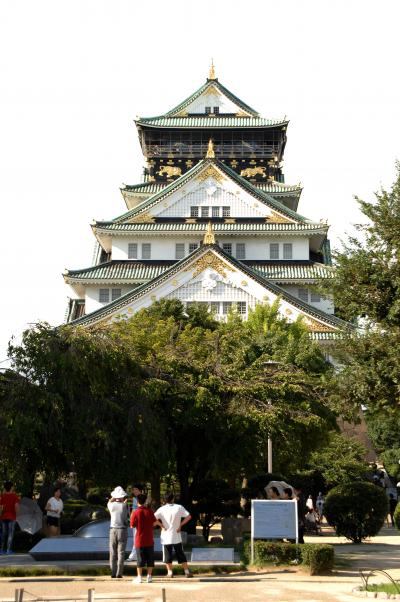 上海友人来日アテンド04・其の肆~第二天下午去大阪城!可是提前玩別的事太多!
