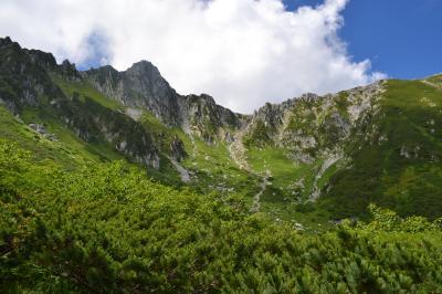 千畳敷カールお花畑を満喫、そして中岳登山
