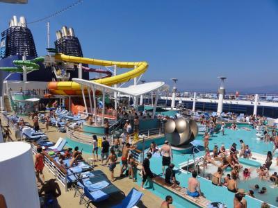 ノルウェージャン・エピック号で行く、真夏の地中海クルーズの旅。その2
