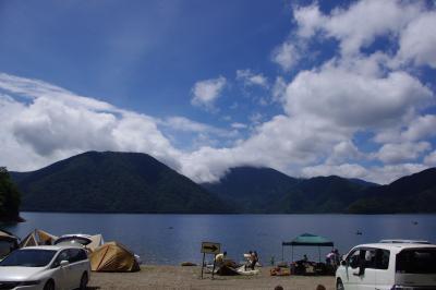 本栖湖キャンプ2012