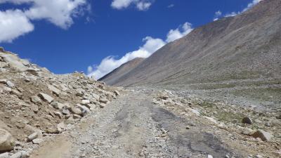 ヒマラヤ登山記(ストックカンリ 6137m) インド (レー編)  6000m峰を目指して~ 2 2012