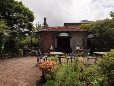 お盆の箱根旅行 箱根湿生花園前の洋食グレインでの美味しいランチ 2012年8月