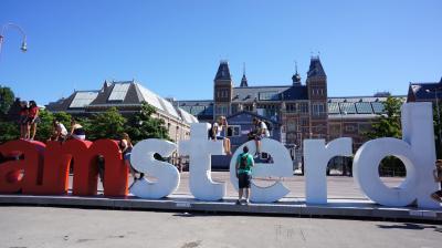ヨーロッパ周遊1ヶ月-毎日迷子の旅   1.アムステルダム