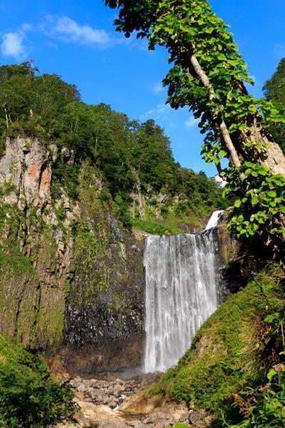 島牧「賀老の滝」