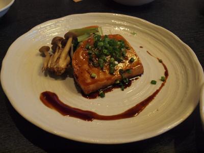 お盆の箱根旅行 箱根仙石原にある食楽房花菜さんでの満足の夕食 2012年8月