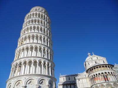 20年振りのイタリア(ローマ⇒ポンペイ⇒アマルフィ⇒フィレンツェ⇒ピサ)旅行です
