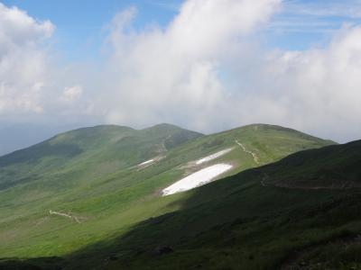蔵王温泉と月山