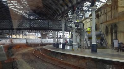 英国の鉄道乗車記(1) イースト・コースト本線(3) ダーリントン駅とニューカッスル・アポン・タイン駅を過ぎベリック・アポン・ツィート駅に向かって