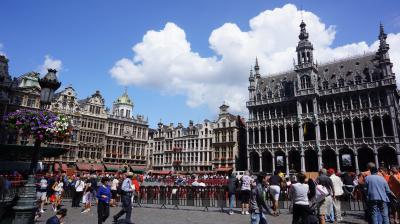 ヨーロッパ周遊1ヶ月-毎日迷子の旅  4.ブリュッセル