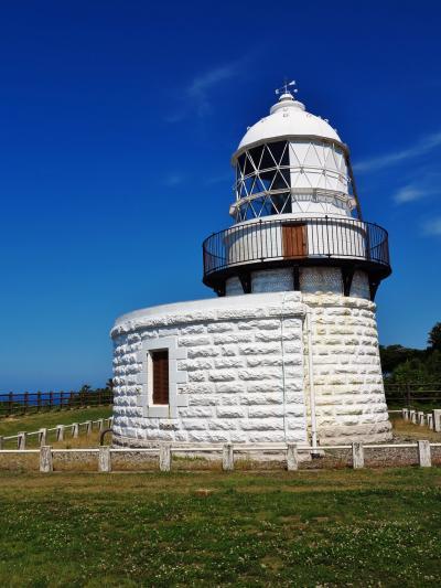 能登-9 禄剛崎、能登半島最北端の地に立つ ☆禄剛埼灯台は輝いて