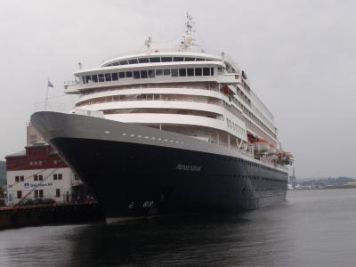 ③ロッテルダム港からHALロッテルダム号でフィヨルドクルーズ