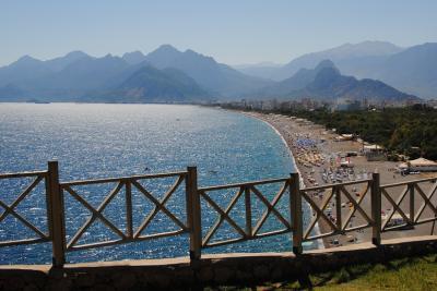 トルコで夏休み① アンタルヤ 2012年8月