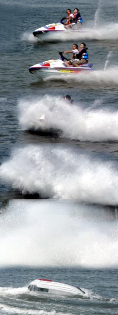 プライベートでジェットスキーに乗せてもらったが、ジェットスキーは『水の上のロデオ』だった! 動画で見ると体感できるかも?