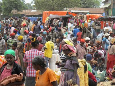 東アフリカ周遊(4)【エチオピア:ジンカの土曜市】