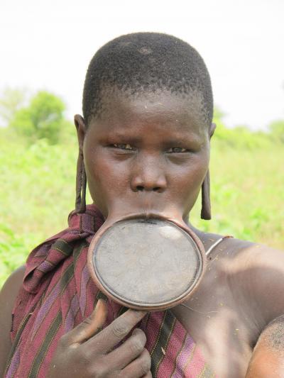 東アフリカ周遊(5)【エチオピア:マゴ・ムルシ族の集落へ】
