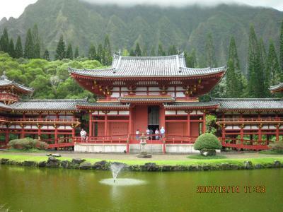 パワースポット 平等院鳳凰堂(ハワイ・オアフ島) 真言有 2007 12 11