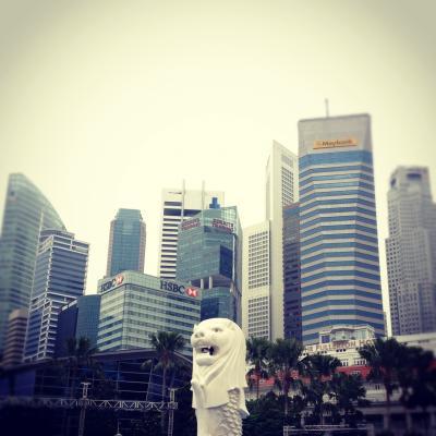 現地駐在の友達をたずねて in Singapore
