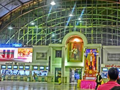 上海よりシンガポールまでの旅日記2012(27)夜行列車→バンコク→カンチャナブリー