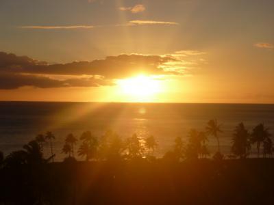 ハワイ コオリナにて