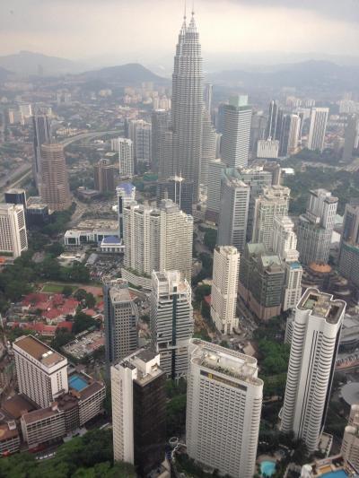 マレーシアの首都クアラルンプール