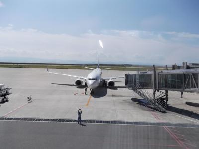 神戸空港マリンエアから阿蘇熊本空港へ!