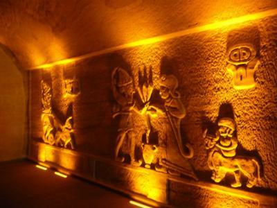 洞窟レストランで食事の後、いよいよギョレメ野外博物館へ
