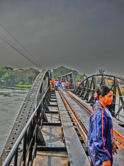 上海よりシンガポールまでの旅日記2012(29)カンチャナブリー三日目