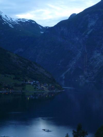 3週間北欧周遊一人旅12日目②・トロルスティーゲンを通ってガイランゲルに到着