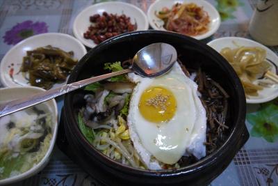 中国東北部【4】延吉→図們 冷麺ビビンバ電脳間