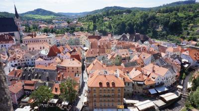 ヨーロッパ周遊1ヶ月-毎日迷子の旅  7.チェスキー・クルムロフ