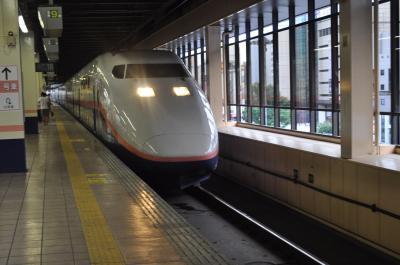 2012年8・9月北海道・東北鉄道旅行13(山形新幹線・上越新幹線)