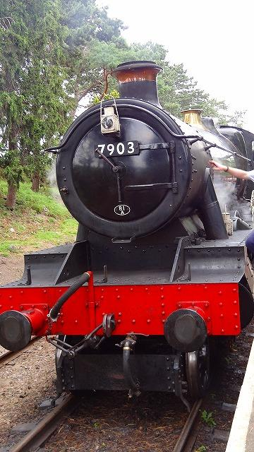 英国の鉄道乗車記(5) GWR保存鉄道グロスタシャー・ワーウィックシャー・レイルウェイでウィンチカムまで1等車に乗車 上巻