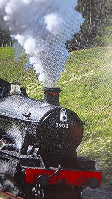 英国の鉄道乗車記(5) GWR保存鉄道グロスタシャー・ワーウィックシャー・レイルウェイでウィンチカムまで1等車に乗車 下巻