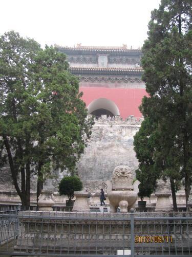 北京明の十三陵