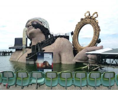 2012(19) ドイツ国境を越えて日帰りの旅③ ☆湖上音楽祭の街ブレゲンツで トイレ攻防戦(笑)☆