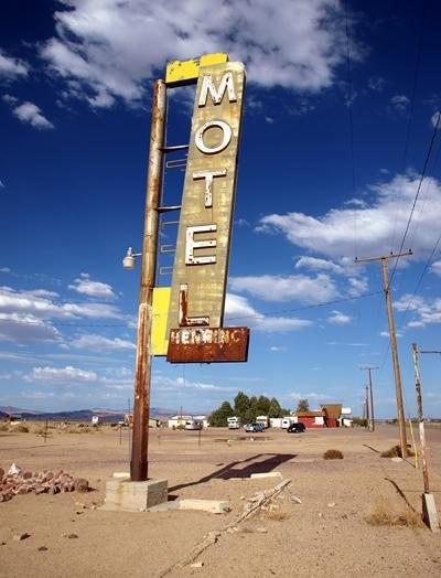 ルート66の旅2012/モハベ砂漠横断! ニードルズ~アンボイ~バーストウ