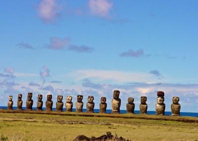 南海の孤島イースター島  ~ 「世界一周堂 航空券を手に」