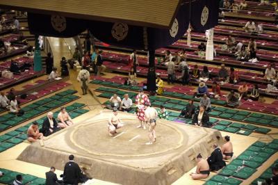 大相撲を見に行ってみよう! (平成24年9月場所)