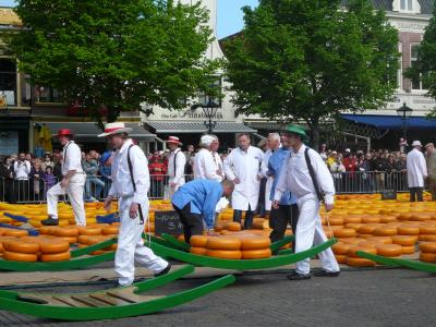 新緑の風を感じて街歩きをしよう! 2009年GW オランダ 6 (アルクマール)