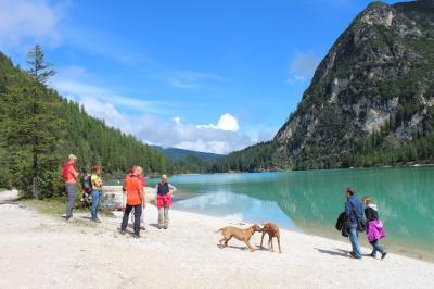 ドロミテ街道&グロースグロックナー山群道路をドライブ旅行 NO.5 オーストリアのリゾート地リエンツ(Lienz)へ