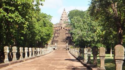 週末旅行 タイ東北部のクメール遺跡を尋ねて その1 小松ー成田ーバンコクーコラート(ナコーンラーチャシーマー)